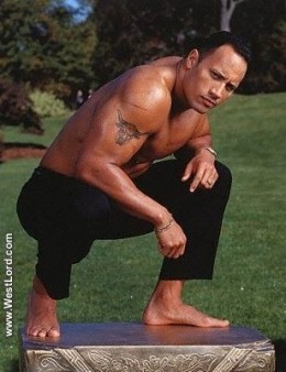 Nobody messes with the Rock