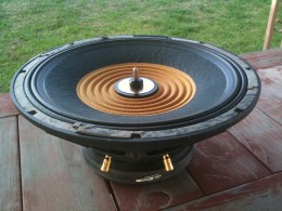 "I managed to pull this out of a huge enclosure that housed 2 of these subwoofers connected in series. It is a 15"" subwoofer and has a power rating of 1200 watts at 4 ohms"