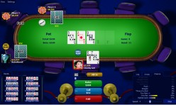 Texas Holdem Poker - a new CASHLESS free game for all