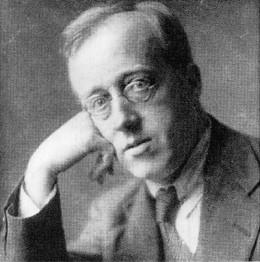 Gustav Holst. Image credit: bigfella.com