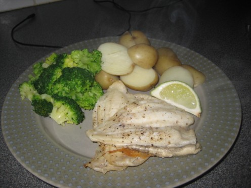 15 Minute healthy meal