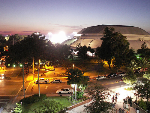 The Stephen C. O'Connell Center or O-Dome  hosts men's and women's basketball. Stephen Cornelius O'Connell (1916 – 2001) was an American attorney, appellate judge and UF university president.