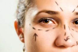 Enhancing facial beauty with Botox cosmetic injections.
