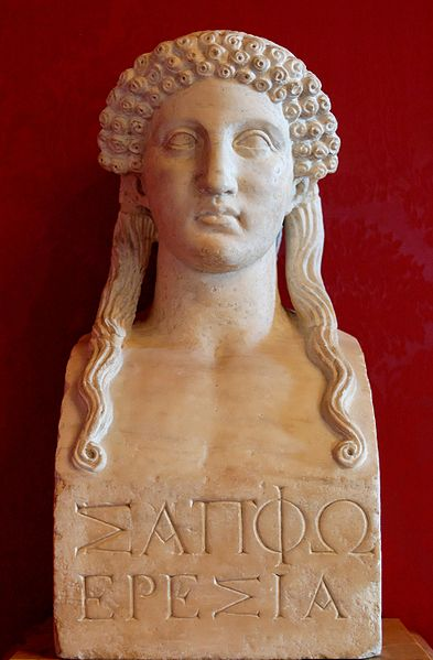Statue of Sappho from the Capitoline Museum. Imge from Wikipedia