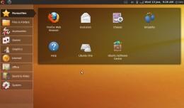 My Aspire One desktop now