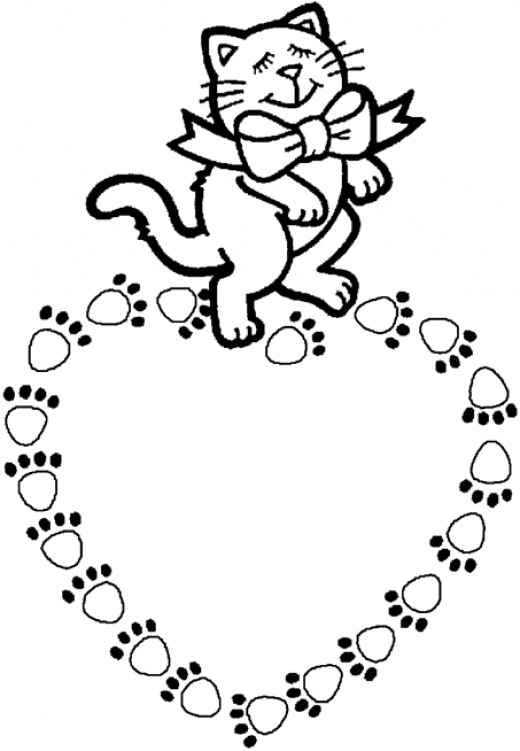 cute ring coloring page