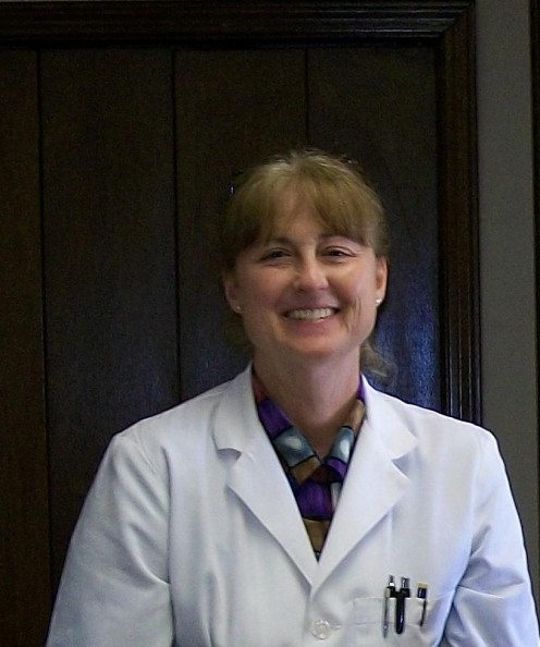 Dr. V.J. Conrad, M.D. who shared her collection of medically oriented items.
