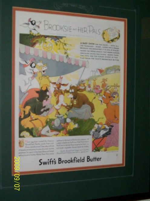 Butter.  Really fresh butter!  No preservatives, no artificial coloring.