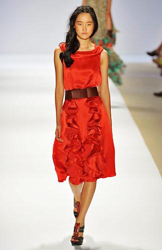 Korean Model Hyoni Kang - Ruffles