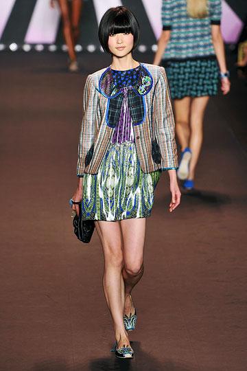 Designer Anna Sui - Bold Colors