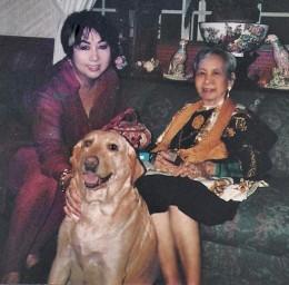 Me, Sandra Dee and Mom