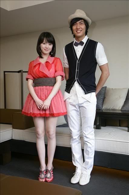 Koo Hye Sun and Lee Min Ho