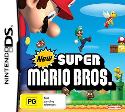 The New Super Mario Brothers is the latest in the best selling game Franchise Mario from Nintendo.