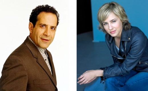 Tony Shalhoub is Adrian Monk      |      Traylor Howard is Natalie Teager