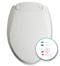 Brondell Breeza Odor Eliminating Toilet Seat