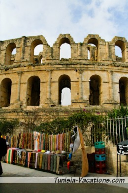 Visit the ancient Colosseum of El Djem