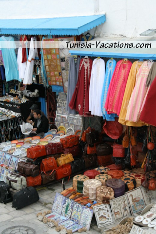 Do some shopping and practice your haggling