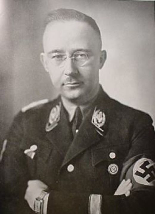 The architect of Lebensborn, Heinrich Himmler