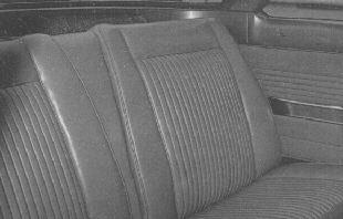 The Rear Turin Monza Seats