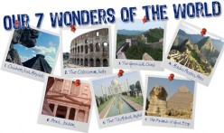 7 Wonders of the World-The Colosseum-Italy- in Rome