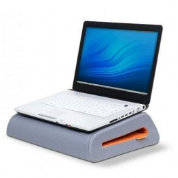 Laptop cushion for comfort and support