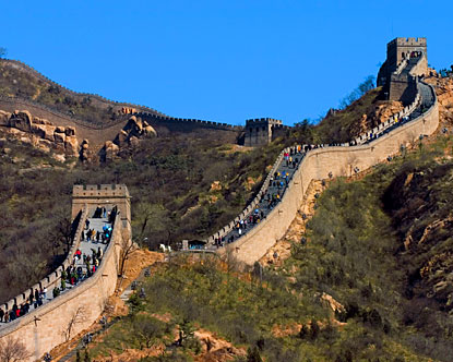 certain parts of the Great Wall are closed to the public, but the bulk remains availabel for that photo of a lifetime