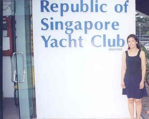 me at the Yacht Club