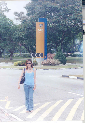 me at the Ntional University of Singapore