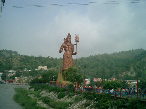 Statue of LORD SHIVA at haridwar