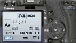 Learning Digital Photography - DSLR settings