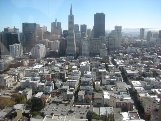 View from coit tower.
