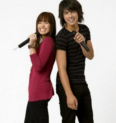 Demi Lovato - Jonas Brothers Camp Rock Kids Coloring Pages with Free Colouring Pictures to Print