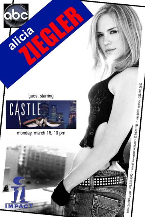 "Alicia Ziegler 3-2-1- Acting School Alumni Guest Stars on ""CASTLE"""