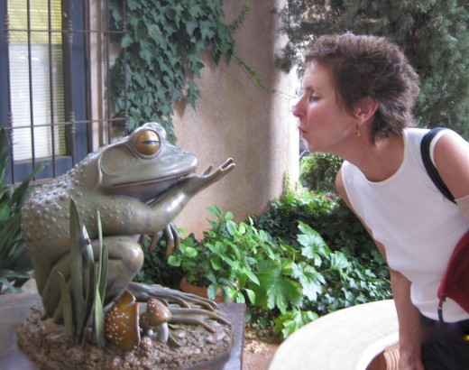 Oh, no another frog to kiss...