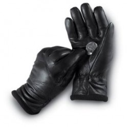 Ladies' Italian Leather Dress Gloves Black by Jacob Ash