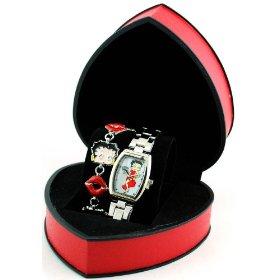 Betty Boop watch & bracelet set