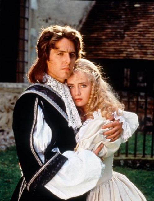 """Lucius and Panthea Vyne, scene from """"The Lady and The Highwayman."""""""