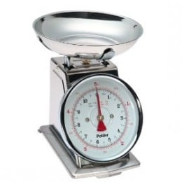 Stainless steel vintage kitchen scales