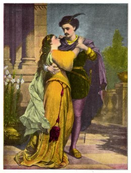 I love you Romeo, but wouldst thou not wear thy purple stockings? It offends my shallow sense of femininity...