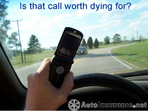 Drivers can get emotional while talking on their cell, therefore making it very dangerous for every one on the road.