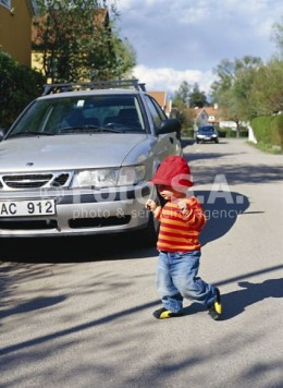 When driving are you prepared, in case a little child crosses your path.