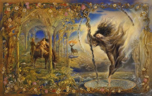 Wall Hanging Fantasy Paintings