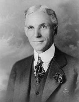 Henry Ford, inventor of the Model T   Source: About.com