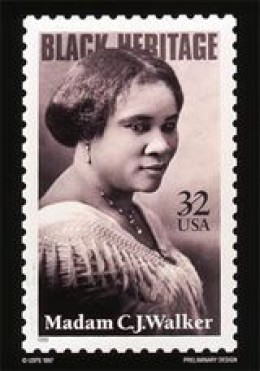 Madam C.J. Walker, Self-made Millionaire