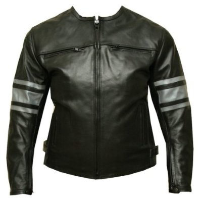 Womens Leather Jacket Motorcycle Armor Ladies Black GM