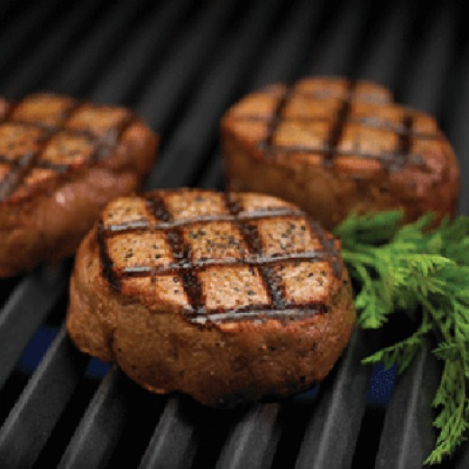 With a hotter grill, lock the moisture in the food for amazing grilled flavor.