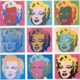 One of Warhol's most memorable subjects was Marilyn Monroe