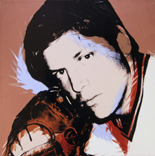 Even pseudo-celebrities like baseball star Tom Seaver got the Warhol treatment