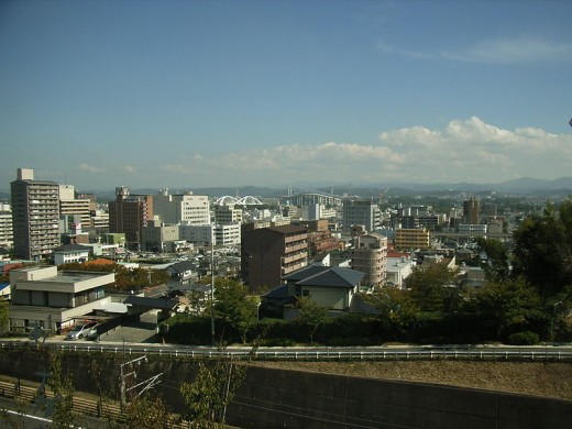 Toyota City - was once Koromo town which changed its name to Toyota city and today has a population of 500,000 people