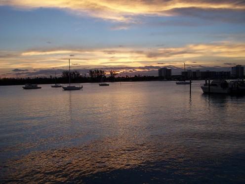 Jupiter Inlet, southeast coast of Florida.